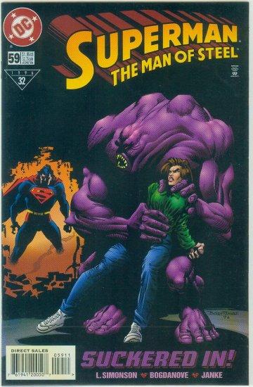 Man Of Steel #59 (1996)