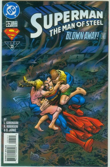 Man Of Steel #57 (1996)