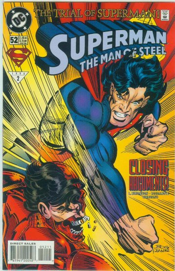 Man Of Steel #52 (1996)