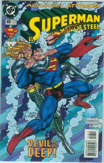 Man Of Steel #48 (1995)