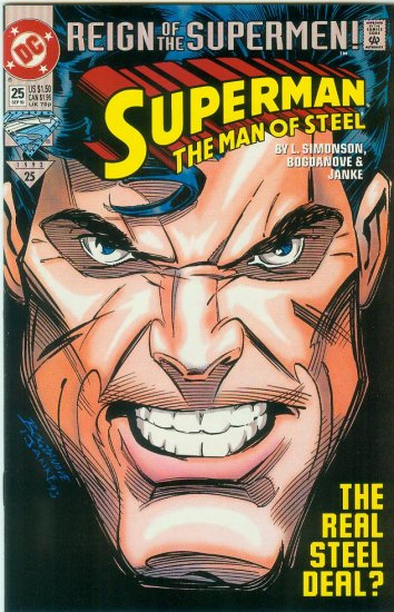 Man Of Steel #25 (1993)