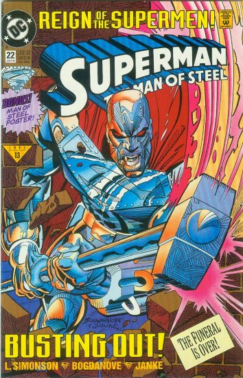 Man Of Steel #22 (1993)