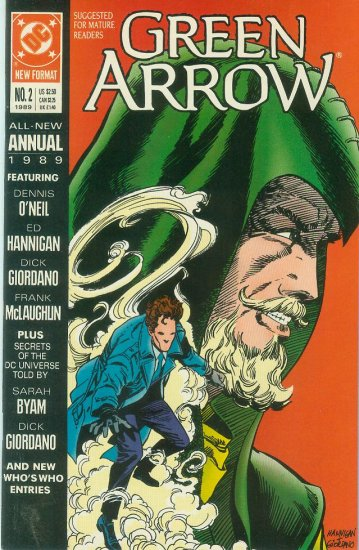 Green Arrow Annual #2 (1989)