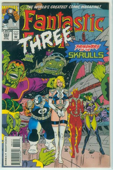 FANTASTIC FOUR #382 (1993)