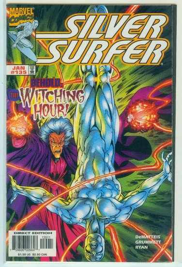 MARVEL COMICS SILVER SURFER #135 (1998)