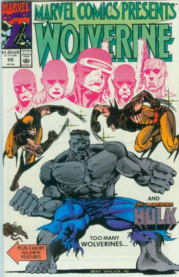 Marvel Comics Presents Wolverine #59 (1990)