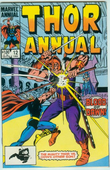 MARVEL COMICS THOR ANNUAL #12 (1984)