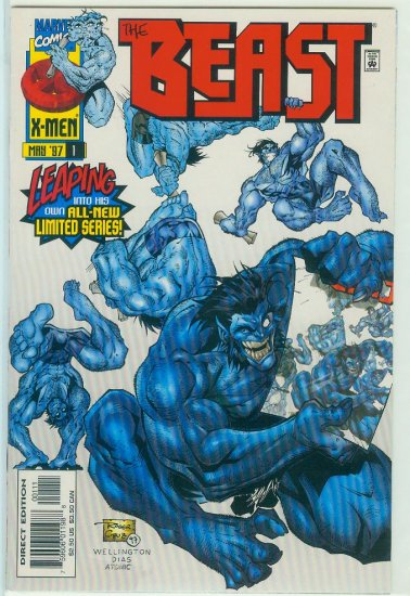 X-MENS BEAST #1-3 1997 FIRST LIMITED SERIES