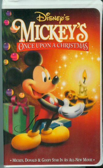 Disney's Mickey's Once Upon a Christmas (VHS,1999)