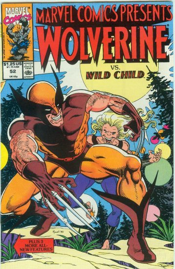 Marvel Comics Presents Wolverine #52 (1990)