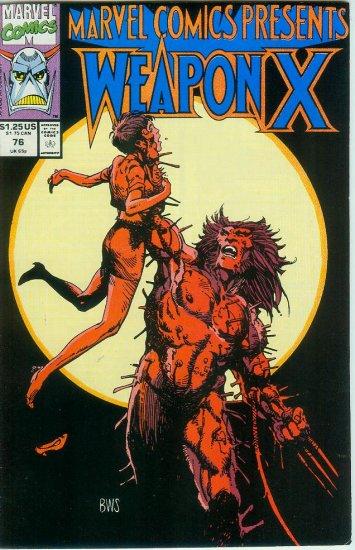 Marvel Comics Presents Weapon X #76 (1991)