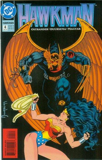 Hawkman #4 (1993)