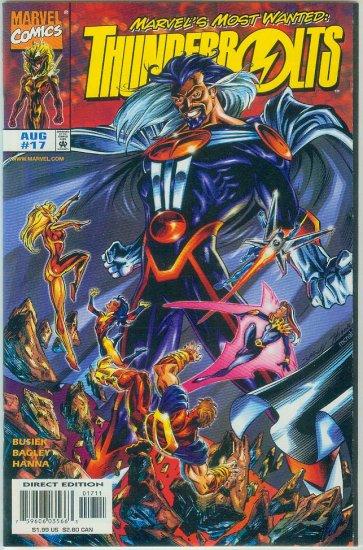 THUNDERBOLTS #17 (1998)