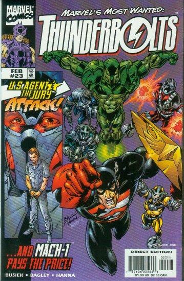 THUNDERBOLTS #23 (1999)