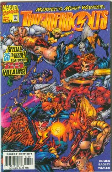 THUNDERBOLTS #25 (1999)