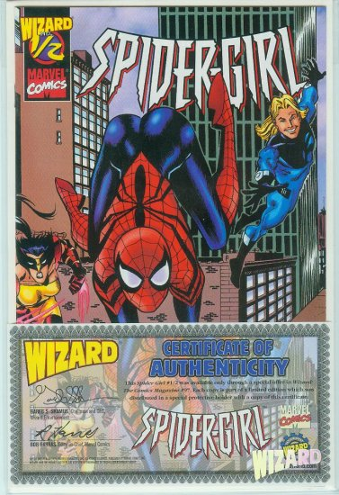 Spider-Girl #1/2 Wizard/Marvel (1999)