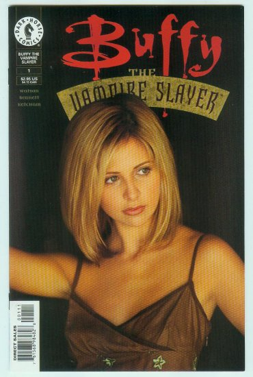 Buffy The Vampire Slayer #1 (1998) Variant Photo Cover