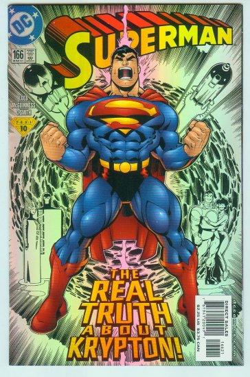 Superman #166 (2001) Foil Cover