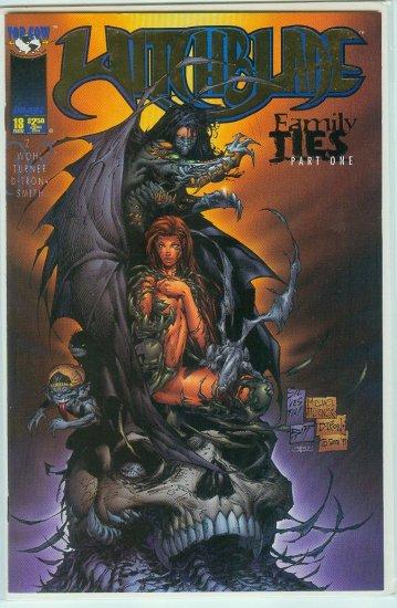Witchblade #18 Rare Gold Letter Variant (1997)