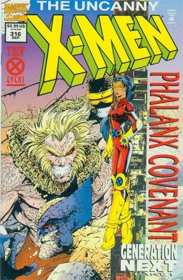 UNCANNY X-MEN #316 HOLOGRAM COVER (1994)