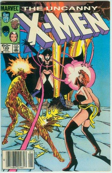 UNCANNY X-MEN #189 (1985)