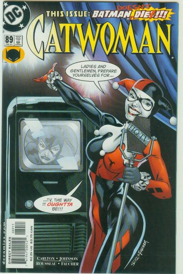 CATWOMAN #89 (2001)