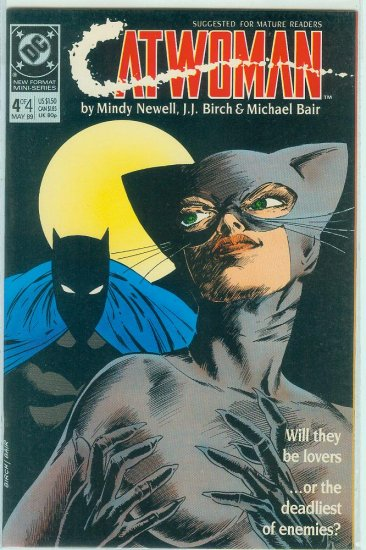 CATWOMAN #4 of 4 LIMITED SERIES (1989)