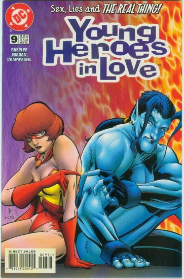 YOUNG HEROES IN LOVE #9 (1998)
