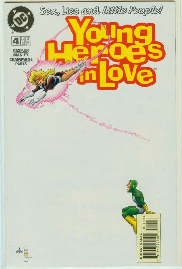 YOUNG HEROES IN LOVE #4 (1997)