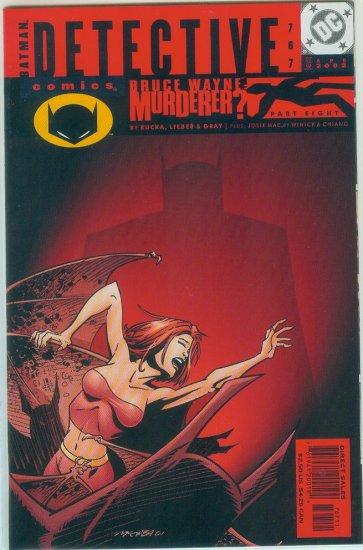 DETECTIVE COMICS #767 (2002)
