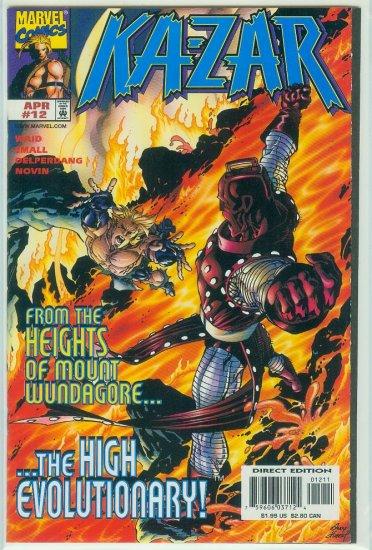 KA-ZAR #12 (1998)
