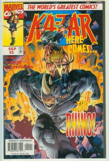 KA-ZAR #5 (1997)