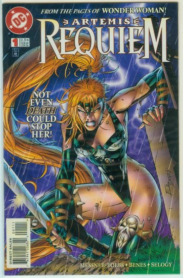 ARTEMIS REQUIEM #1-6 (1996) COMPLETE SERIES