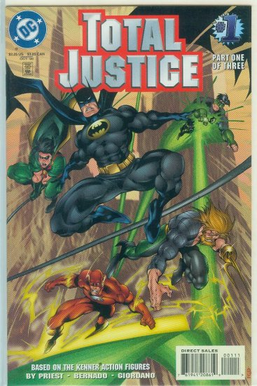 TOTAL JUSTICE #1-3 (1996)