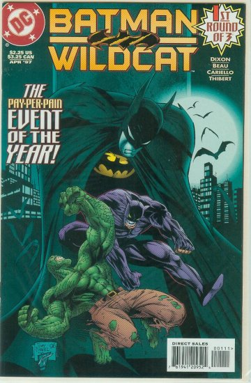 BATMAN/WILDCAT #1-3 (1997) COMPLETE SERIES