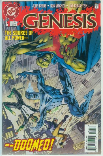 GENESIS #1-4 (1997) COMPLETE SERIES DC CROSS OVER