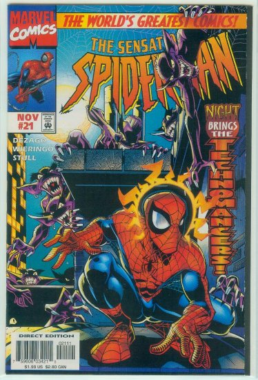 SENSATIONAL SPIDER-MAN #21 (1997)