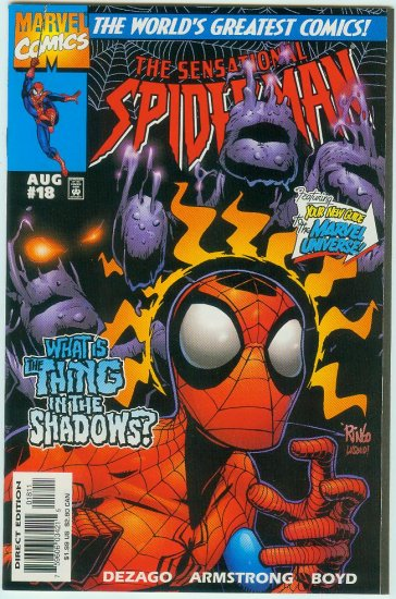 SENSATIONAL SPIDER-MAN #18 (1997)
