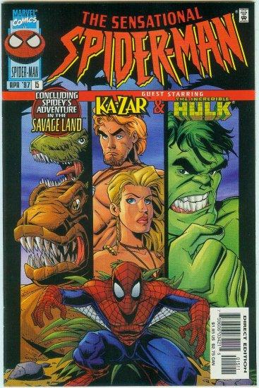 SENSATIONAL SPIDER-MAN #15 (1997)