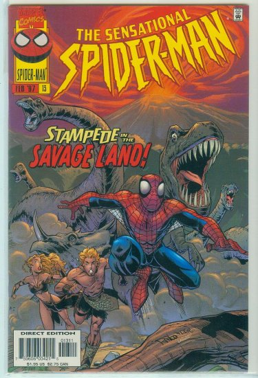 SENSATIONAL SPIDER-MAN #13 (1997)