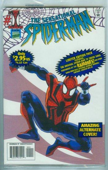SENSATIONAL SPIDER-MAN #1 VARIANT COVER (1996)