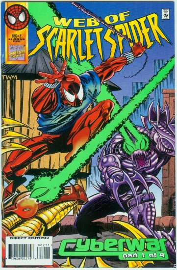 WEB OF SCARLET SPIDER #2 (1995)