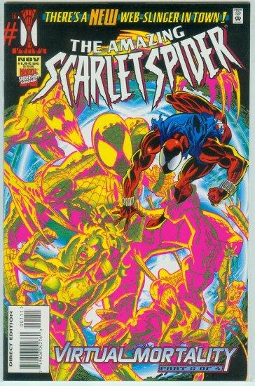 AMAZING SCARLET SPIDER #1 (1995)