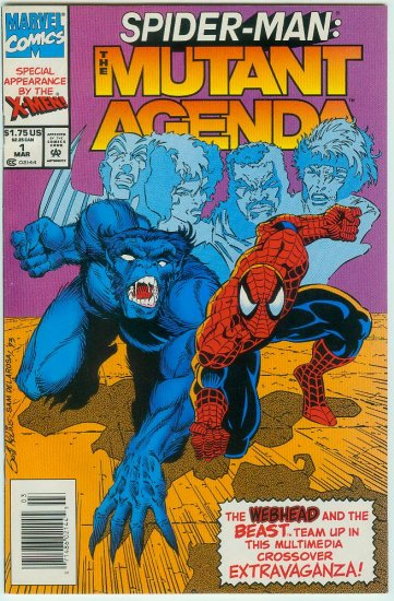 SPIDER-MAN THE MUTANT AGENDA #1 (1994)