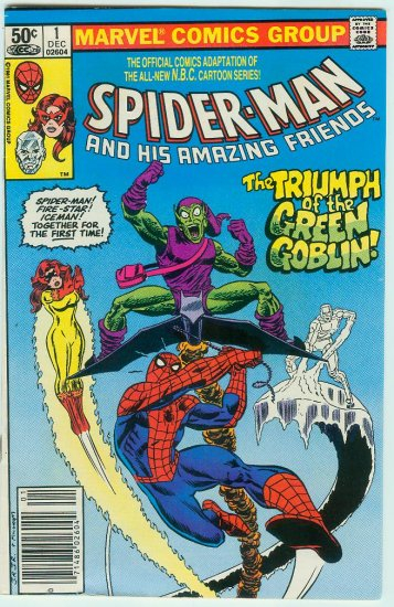 SPIDER-MAN AND HIS AMAZING FRIENDS #1 (1981)