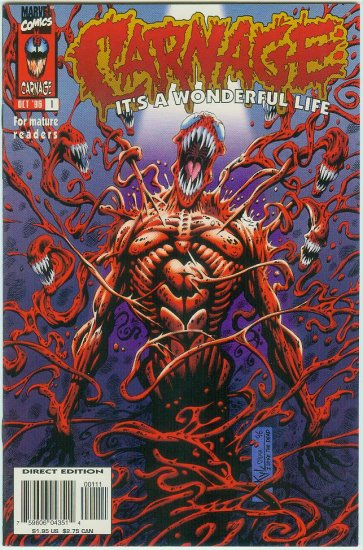 CARNAGE IT'S A WONDERFUL LIFE #1 (1996)