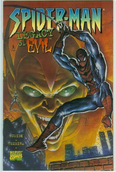 SPIDER-MAN LEGACY OF EVIL #1 (1996)