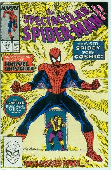 SPECTACULAR SPIDER-MAN #158 (1989)