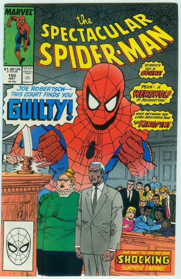 SPECTACULAR SPIDER-MAN #150 (1989)