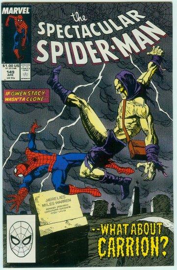SPECTACULAR SPIDER-MAN #149 (1989)